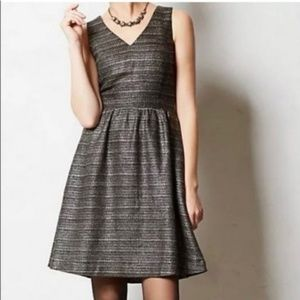Anthro dress Moulinette Soeurs Tweed